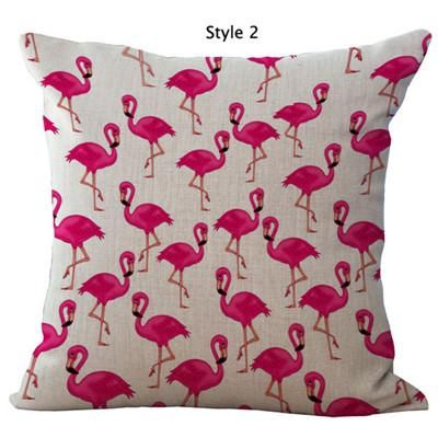 PillowCushion Cover for Flamingo