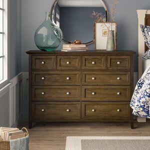 Birch Lane Heritage Callington 8 Drawer Double Dresser Reviews Wayfair Double Dresser Furniture Wood Drawers