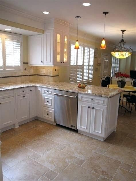 76 Nice Kitchen Floor Ideas And Porcelain Tile Ideas For Kitchen