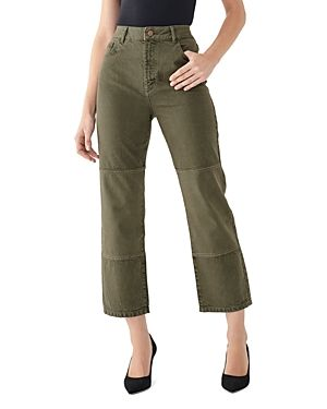 DL1961 Womens Jerry High Rise Vintage Straight Jeans