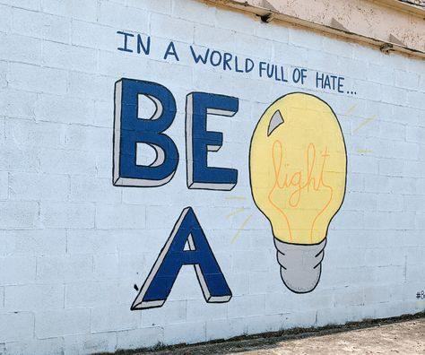 #inspiration #mural #bealight #jesus #faith #shine #inspirationalquote #bossbabe #entrepreneur #sharelove #kindness #lovequotes #art #artcreative #backgroundsforphones #backgroundaesthetic #background #screensaver