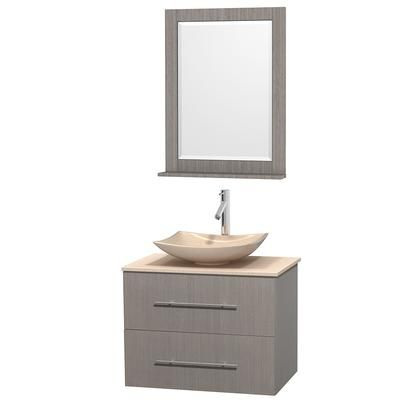 Wcvw00930sgoivgs5m24 30 In Single Bathroom Vanity In Gray Oak