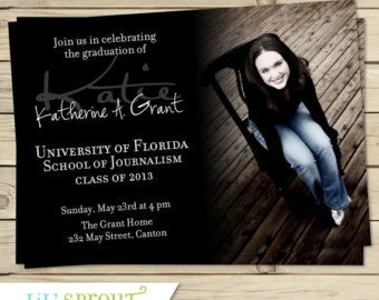 Collage style graduation announcement by lilsproutgreetings collage style graduation announcement by lilsproutgreetings graduation ideas pinterest free printable graduation invitations free printable and filmwisefo Image collections