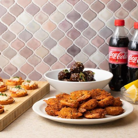 These game night bites 3-ways recipes paired with Coca-Cola® Cherry Vanilla are everything you need for a fun family game night. #Ad
