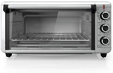 Black Decker To3240xsbd 8 Slice Extra Wide Convection Countertop Toaster Oven Includes Bake Pa Convection Toaster Oven Countertop Convection Oven Toaster Oven