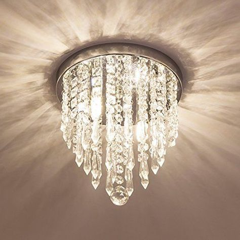 Moooni Hallway Crystal Chandelier 1 Light W8