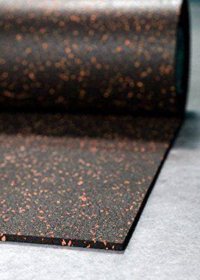 Amazon Com Incstores 1 4 Tough Rubber Roll Brick Red Fleck 4 X 10 Excellent Gym Floor Mats For Med Gym Flooring Rubber Home Gym Flooring Gym Floor Mat