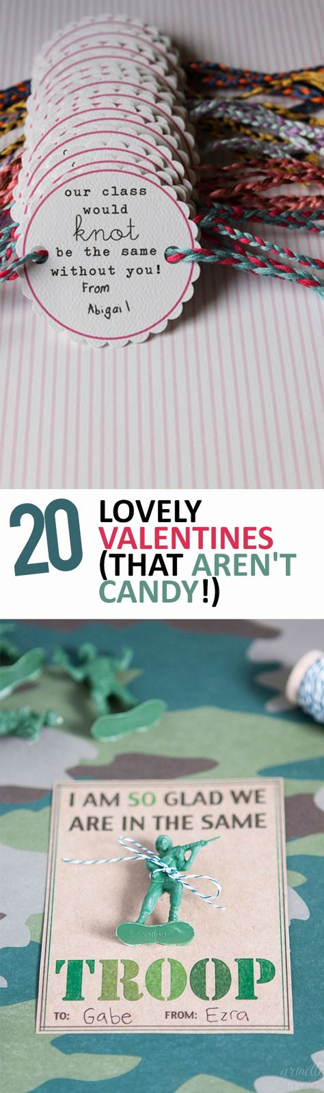 20 Lovely Valentines (That Aren't Candy!) - Sunlit Spaces | DIY Home Decor, Holiday, and More