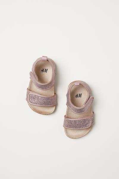 Sandals - Light pink/glittery - Kids