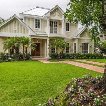 Old Florida House Plan Florida Style Home Floor Plan In 2020 Florida House Plans Florida Home Beach Cottage Style