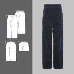 ef53e1ac Bukse med høyt liv | Wardrobe Ideas | Bukser, Tøj og Syning