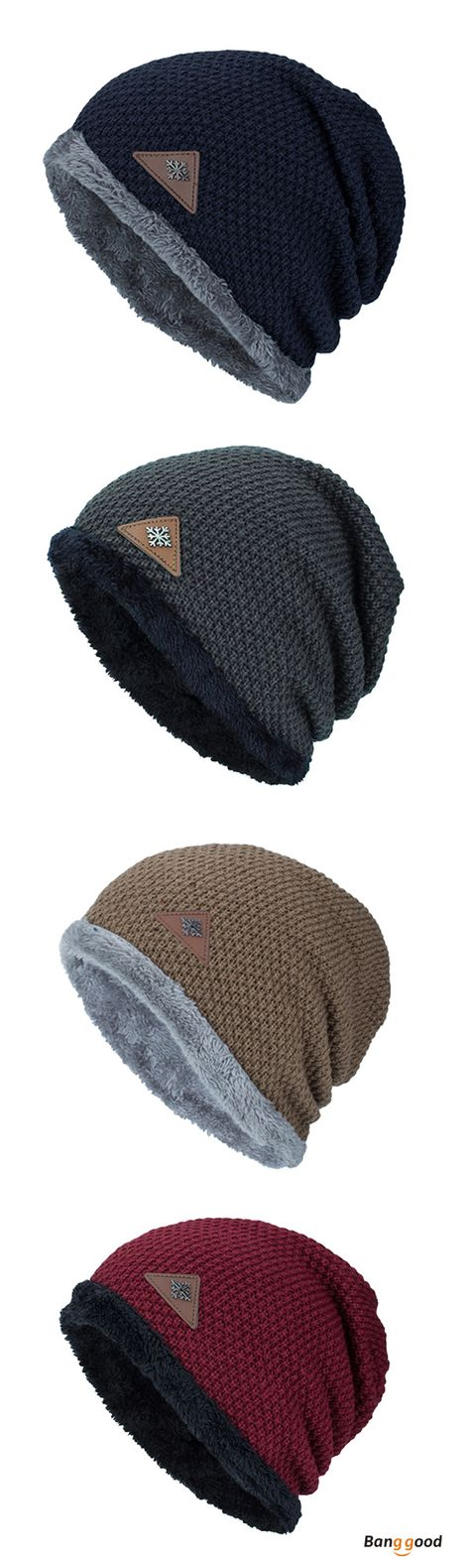 Stretchy Cuff Beanie Hat Black Skull Caps National Coffee Day Winter Warm Knit Hats