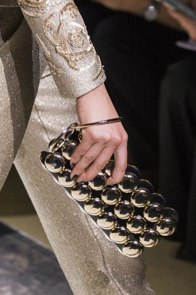 Armani Privé at Couture Fall 2017 - The Most Wanted Handbags on the Fall 2017 Couture Runway - Photos