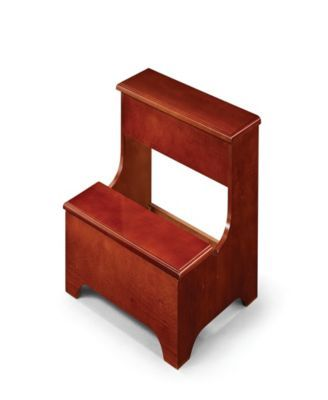 Fantastic Adan Wood Step Stool With Lower Lift Top Storage Brown Gamerscity Chair Design For Home Gamerscityorg