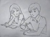 Drawing of love couples sketches book 35 ideas #drawing