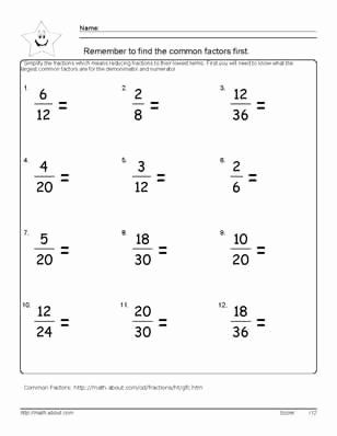 Comparing Fractions Worksheet 4th Grade Multiply Fractions With Mon Denominators Worksh In 2020 Fractions Worksheets Fractions Worksheets Grade 4 Simplifying Fractions