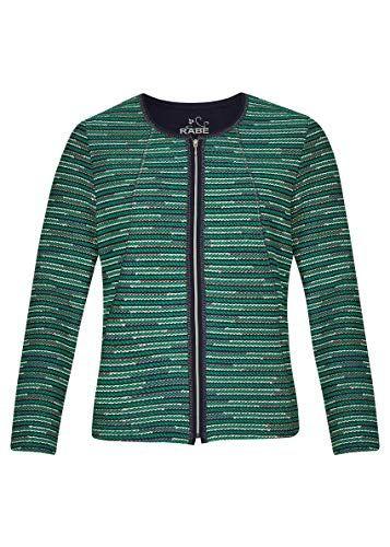 Rabe Damen Jacke mit Streifen und Reißverschluss   Fashion