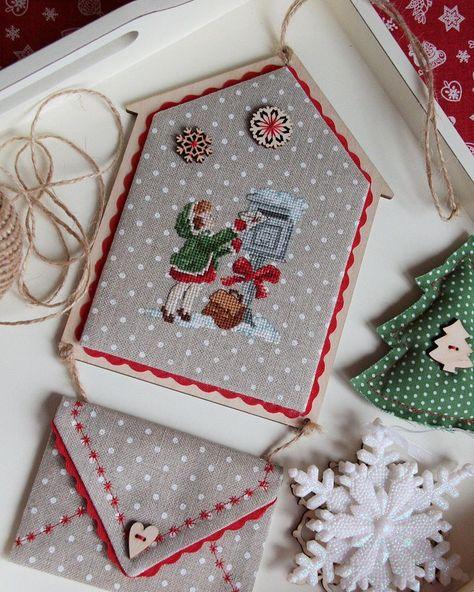 Enveloppe pour le Père Noël, s'il n'a pas le temps d'acheter des cadeaux # veroniqueenginger #c …