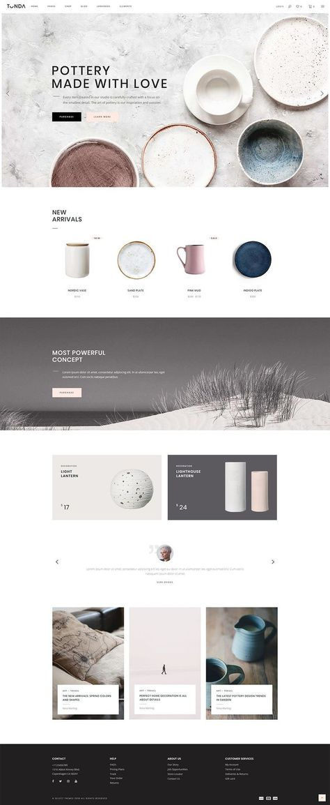 Tonda - Elegant Shop Theme