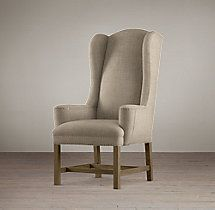 Belfort Wingback Upholstered Armchair