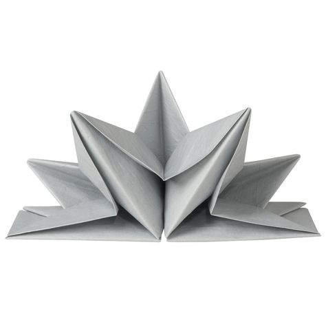Intricately Intertwined Serviettes : origami napkins | 455x474