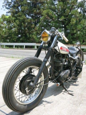 63 Sr400 Sr400 Sr500のカスタムバイクショップ 2 Erツーパーセンター カスタムバイク ボバー バイク