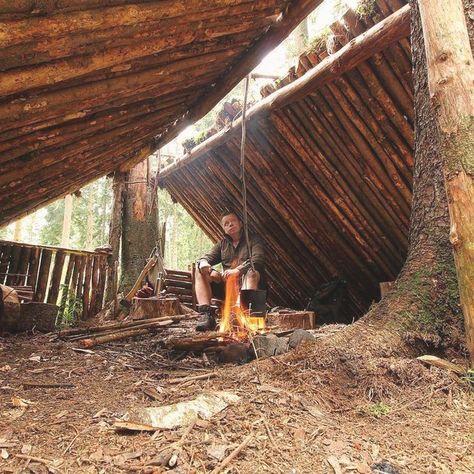 Qué Es Bushcraft Bushcraft Es El Arte Con Los Posibles De Nuestros N Bushcraft Camping Bushcraft Supervivencia De Camping
