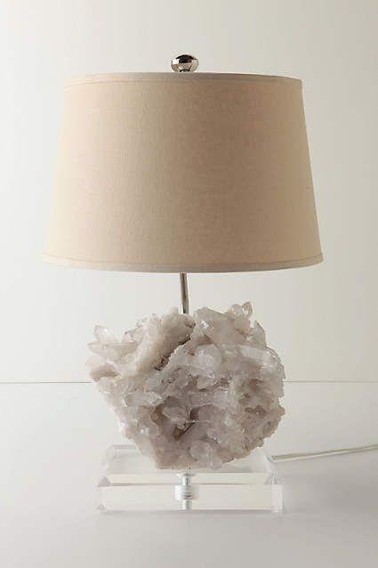 How To Diy Rock Crystal Lamp Using Borax Rock Lamp Crystal
