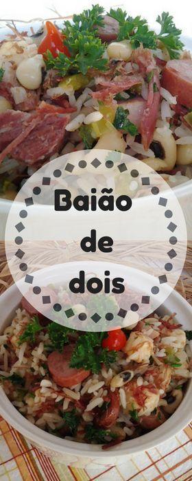 Aprenda A Preparar Baiao De Dois Receita Tipica Do Nordeste Com
