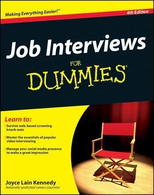 Download Pdf Job Interviews For Dummies 4th Edition By Joyce