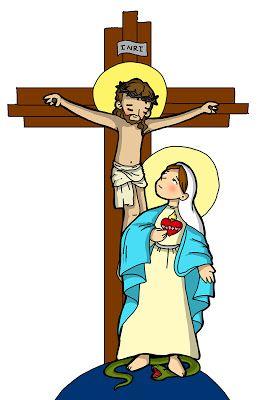Dibujos Para Catequesis Maria Al Pie De La Cruz La Cruz De Jesus Dibujos De Jesus Dibujos De Virgen