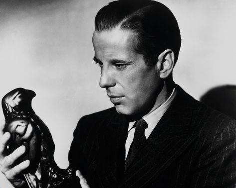 Humphrey Bogart hair amwriting filmnoir