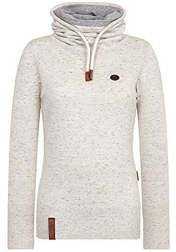 Naketano Damen Strickjacke Fragen Pullover: