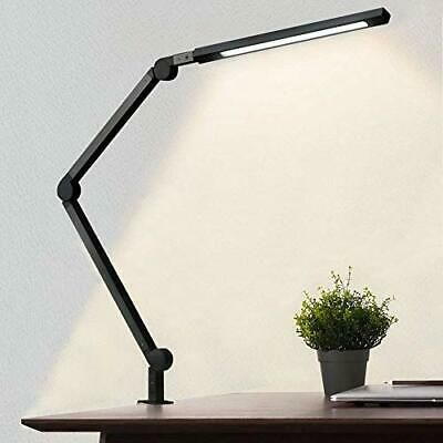 Desk Lamp With Clamp Eye Care Swing Arm Desk Lamp Stepless Dimming Adjustabl 744110977646 Ebay In 2020 Architect Lamp Desk Lamp Lamp