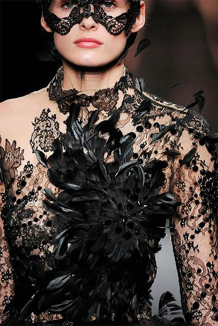 {style inspiration : a very valentino halloween}   Flickr - Photo Sharing!