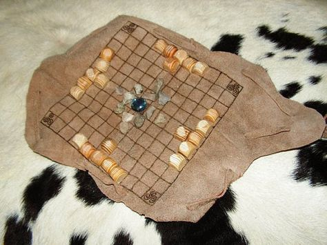 "Hnefatafl - viking game (means ""fist table"" in Icelandic"