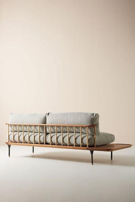 Brilliant Kalmar Sofa With Side Table Bralicious Painted Fabric Chair Ideas Braliciousco