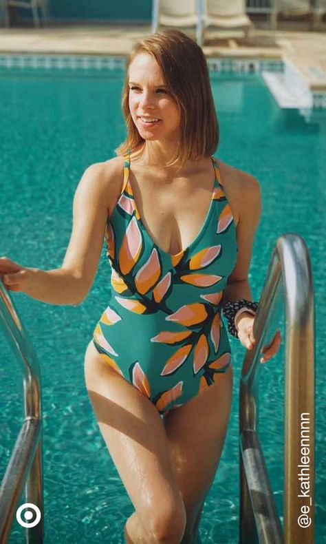 Poolside lounging on your mind? Pack in a one-piece swimsuit  style cute outfits that are perfect for sunny-day adventures.