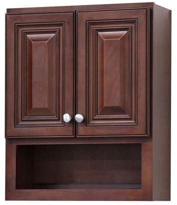 34+ Bathroom wall cabinet cherry custom