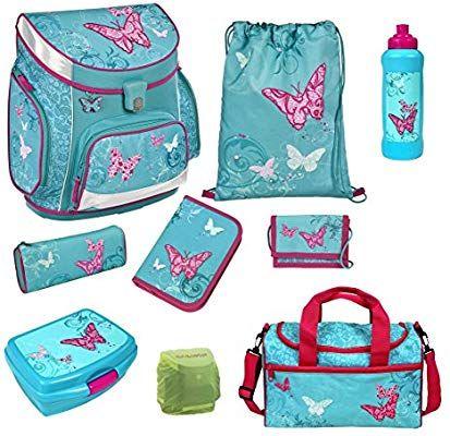 Scooli Butterfly Schulranzen Set 9tlg Campus Up Mit Sporttasche Schmetterling Bukr8252 Amazon De Spielzeug Girls Bags Cute Mini Backpacks Bags