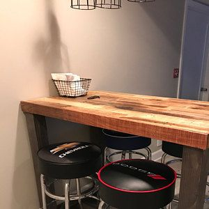 Reclaimed Wood Bar Table Restaurant Counter Community Communal Rustic Cafe Conference Office Pub High Top Long Thin Caster Wheels Power Usb Square Coffee Tables Living Room Wood Bar Table Coffee Table