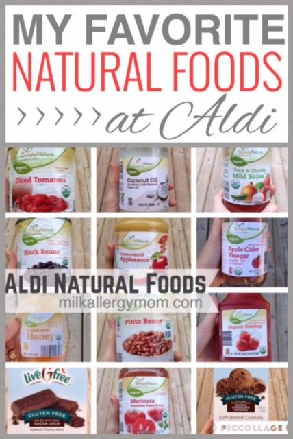 The Best 20 Dairy Free Foods At Aldi Natural Organic Non Gmo Food Allergy Mom Allergy Free Recipes Food Allergies