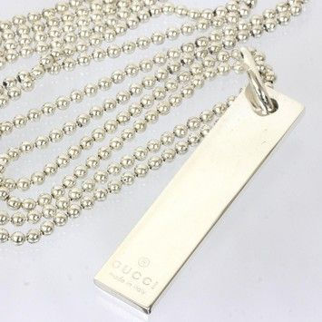 e8979c62c Get the lowest price on Gucci Sterling Silver 925 Pendant Necklace and  other fabulous designer clothing and accessories! Shop Tradesy now