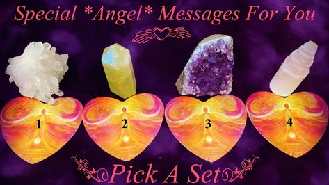 Special Angel Messages For You ~ Pick-A-Set - YouTube