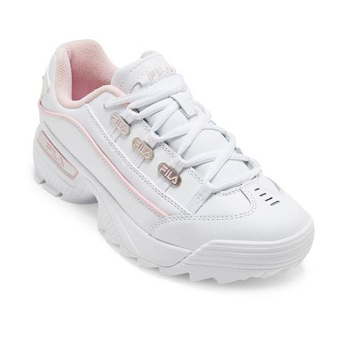 Fila Hometown Womens Lace-up Sneakers