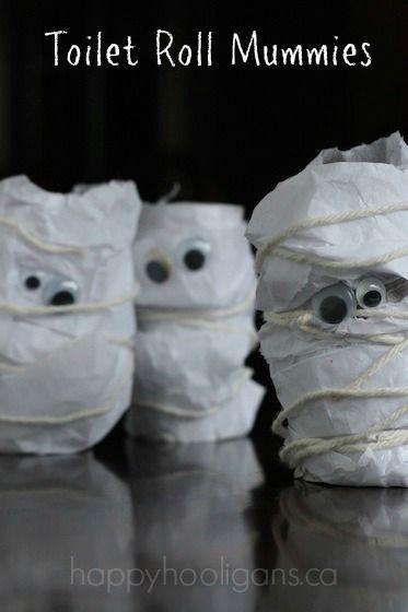 Toilet Roll Mummies from Happy Hooligans