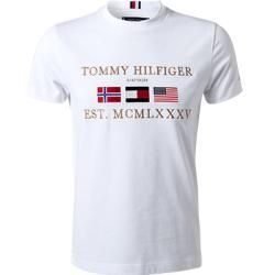 Tommy Hilfiger T Shirts Herren Bio Baumwolle Weiss Tommy Hilfigertommy Hilfiger Source By Ladenzeile Cute Sh In 2020 Tommy Hilfiger T Shirt Tommy Hilfiger T Shirt