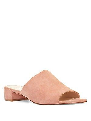 top-rated genuine new release limited guantity Nine West Raissa Suede Slides   bags, shoes, jewels   Heeled ...