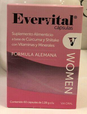 Evervital Women 60 Capsules German Formula Capsule German Formula