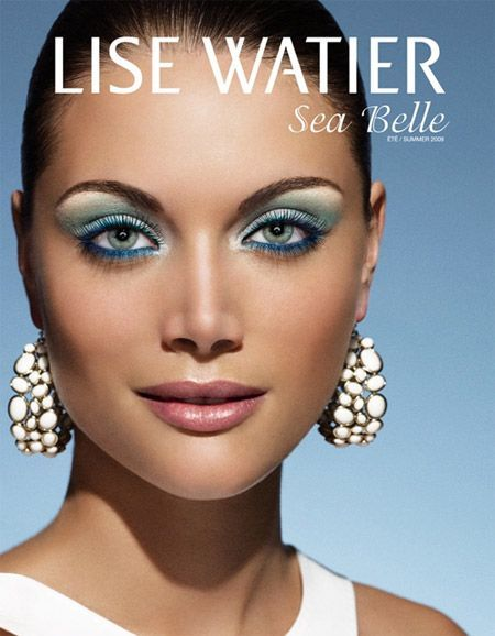 Eyeshadow Totally Amazing Makeup Advert Watier Blue Eyes Over Blue This Lise For Eye Foreyes Eyeshadow For Blue Eyes Lise Watier Blue Eye Makeup